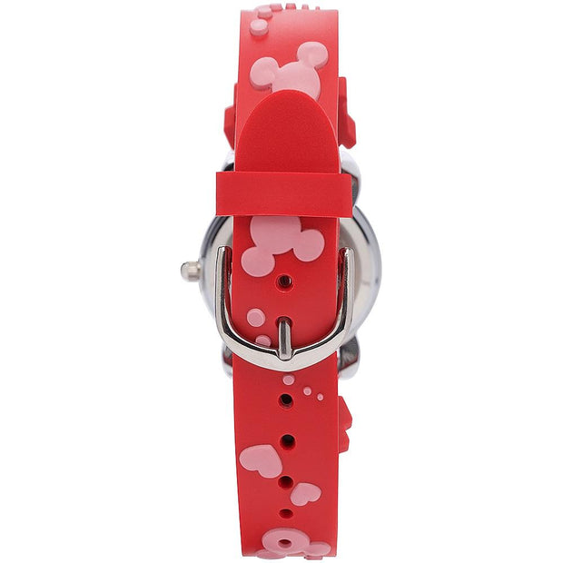 Disney Mickey & Minnie Junior Silver 26 mm Kid's Watches TA64026 - Disney