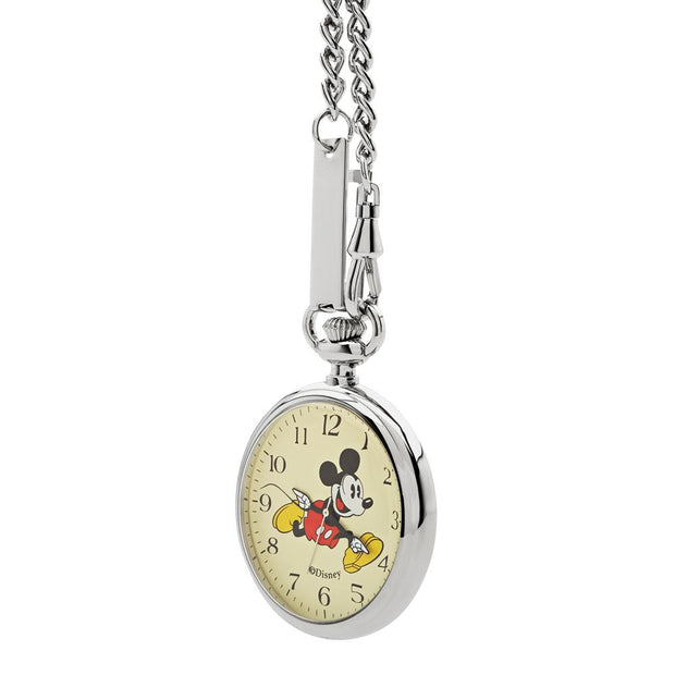 Disney Mickey Pocket Silver 48 mm Unisex's Watches TA69601 - Disney