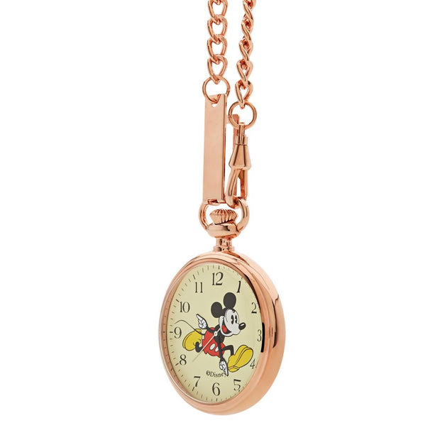 Disney Mickey Pocket Rose Gold 48 mm Unisex's Watches TA69603 - Disney