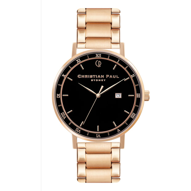 Christian Paul The Noble Man Rose Gold 43 mm Unisex's Watches ABR4323 - Christian Paul