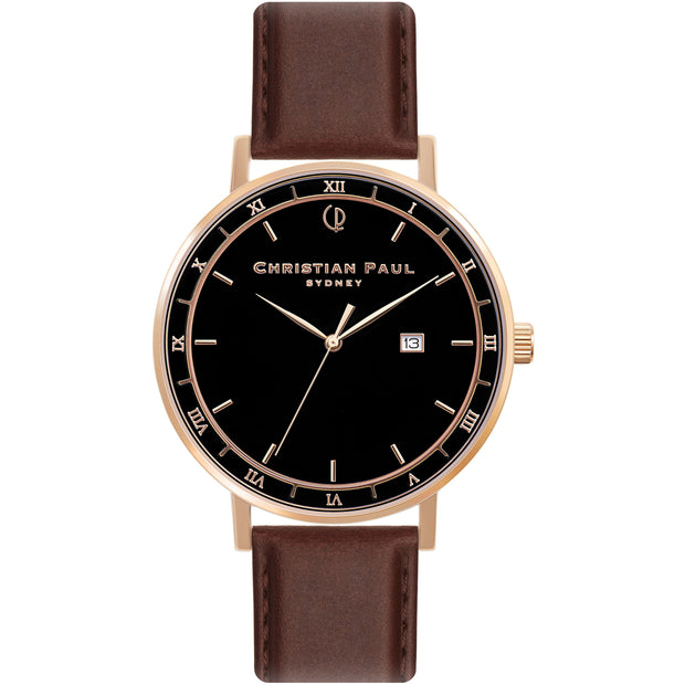 Christian Paul The Noble Man Rose Gold 43 mm Unisex's Watches ABR4309 - Christian Paul