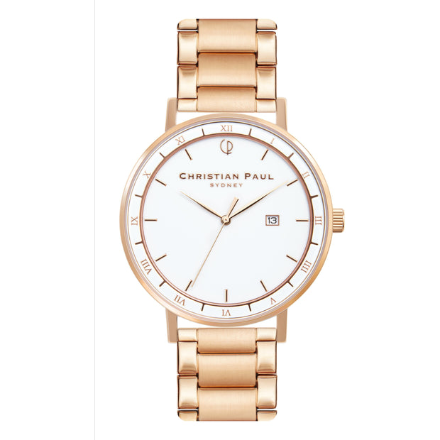 Christian Paul The Observer Rose Gold 43 mm Unisex's Watches AWR4323 - Christian Paul