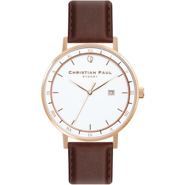 Christian Paul The Observer Rose Gold 43 mm Unisex's Watches AWR4312 - Christian Paul