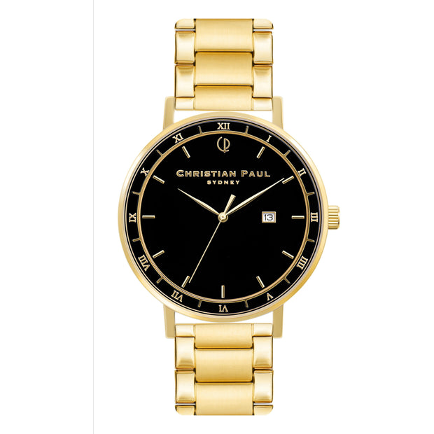 Christian Paul The Story Teller Gold 43 mm Unisex's Watches ABG4325 - Christian Paul