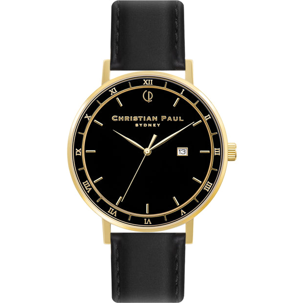 Christian Paul The Story Teller Gold 43 mm Unisex's Watches ABG4308 - Christian Paul