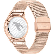 Ted Baker Belgravia Floral Gold Mesh Watch-COCOMI Australia