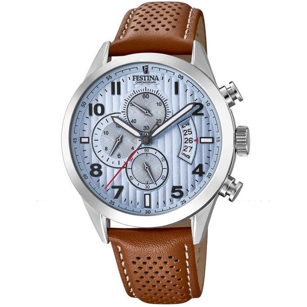 Festina Chrono Sport Brown Watch-COCOMI Australia