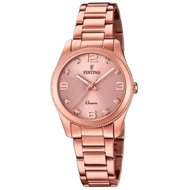 Festina Boyfriend Rose Gold 31mm Watch-COCOMI Australia