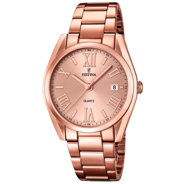 Festina Boyfriend Rose Gold Watch-COCOMI Australia
