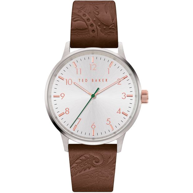 Ted Baker Cosmop Embossed Brown Watch-COCOMI Australia