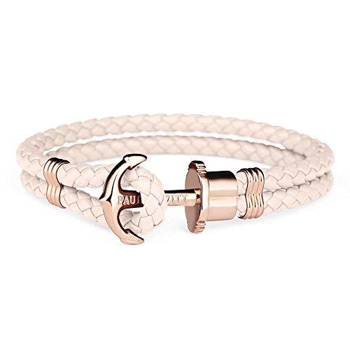Paul Hewitt Anchor Bracelet PHREP IP Rose Gold Pink Rose S (17 cm)