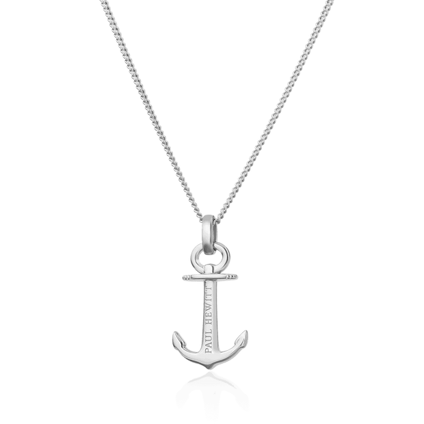 Paul Hewitt Anchor Spirit Silver Necklace-COCOMI Australia