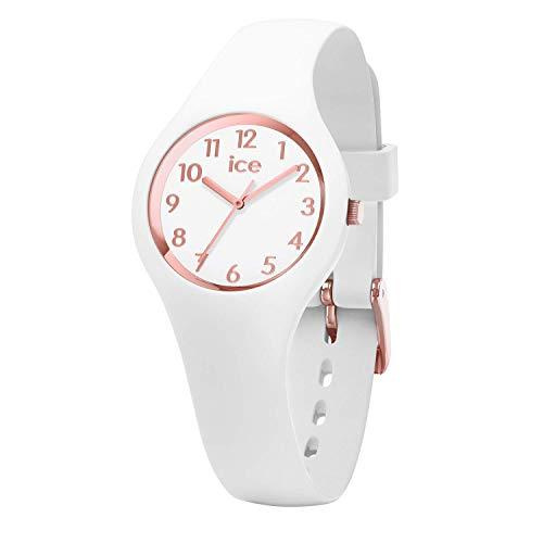 ICE-WATCH Women's Quartz Watch with Silicone Strap, White, 12 (Model: 015343)-COCOMI Australia
