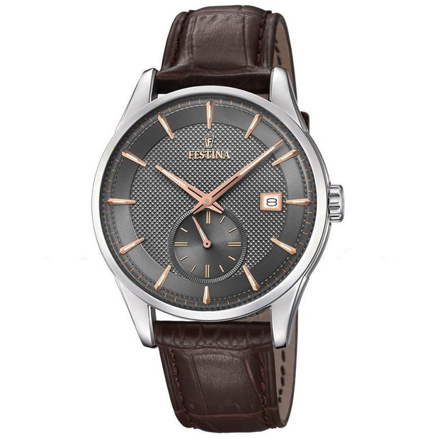 Festina Retro Brown Watch-COCOMI Australia