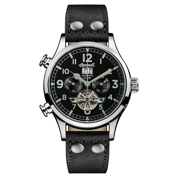 Ingersoll Armstrong Automatic Black Watch-COCOMI Australia