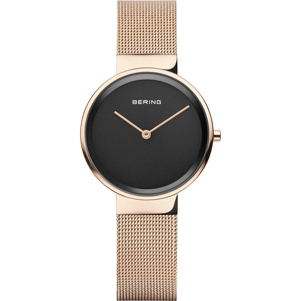 Bering Classic Polished Rose Gold 31mm Watch-COCOMI Australia