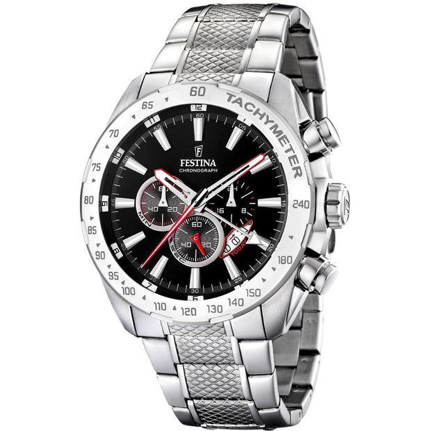Festina Chrono Sport Silver 45 mm Men's Watches F16488/3 - Festina