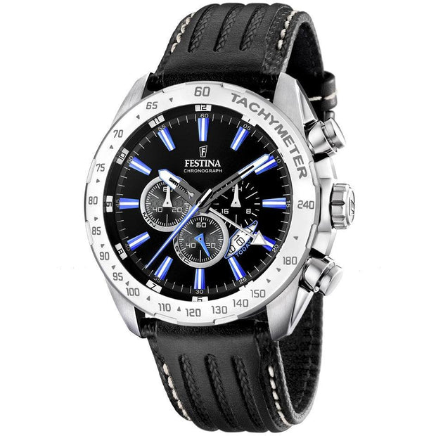 Festina Chrono Sport Silver 45 mm Men's Watches F16489/5 - Festina