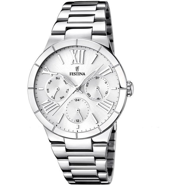 Festina Mademoiselle Silver 37 mm Women's Watches F16716/1 - Festina