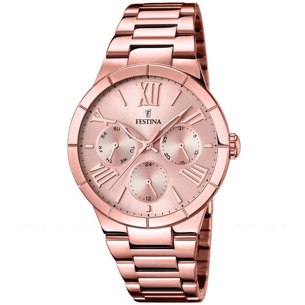 Festina Mademoiselle Rose Gold 37 mm Women's Watches F16718/2 - Festina