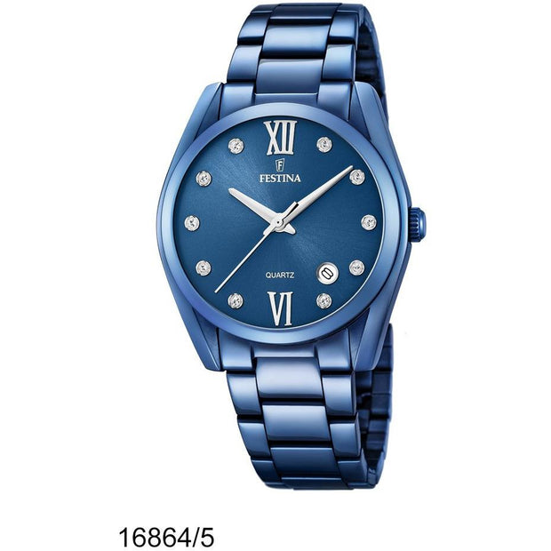 Festina Boyfriend Blue 37 mm Women's Watches F16864/5 - Festina