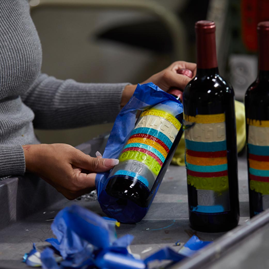 Handcrafted Personalized Wine Gifts