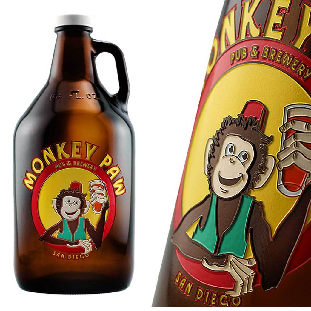 Customized Etched Beer Growler