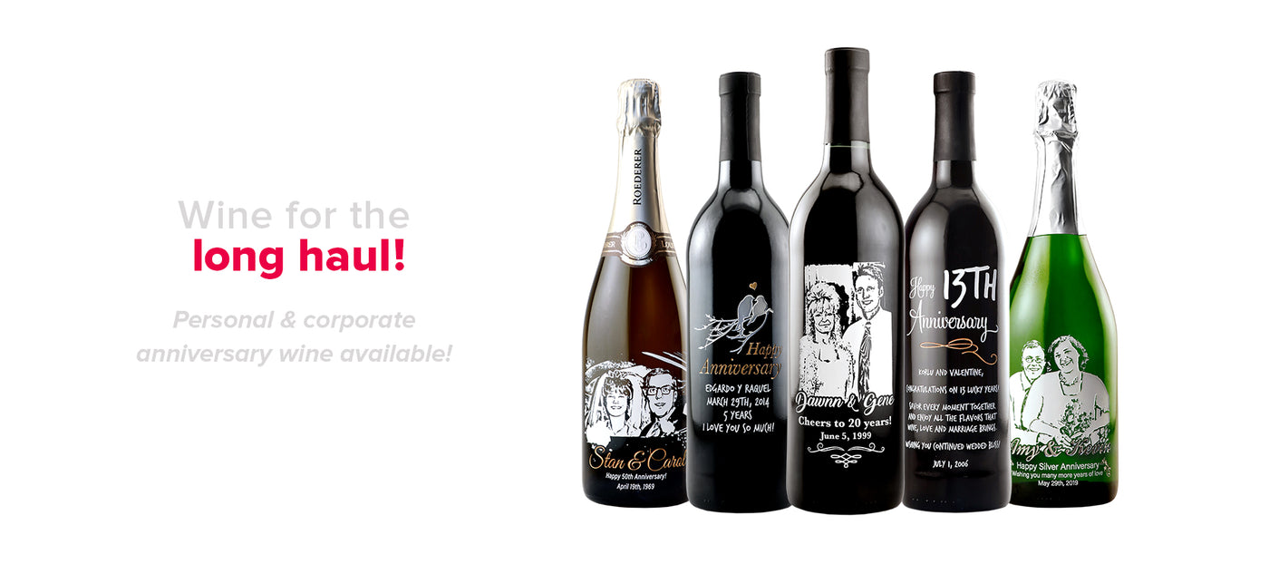 f53b6dba409 personalized wine custom etched bottle for anniversary gifts