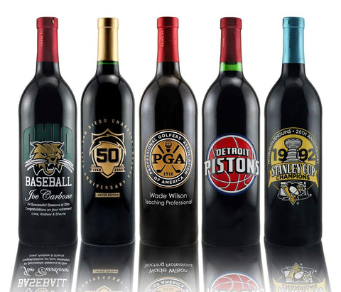 Baseball hockey, basketball, Golf Customized Wine
