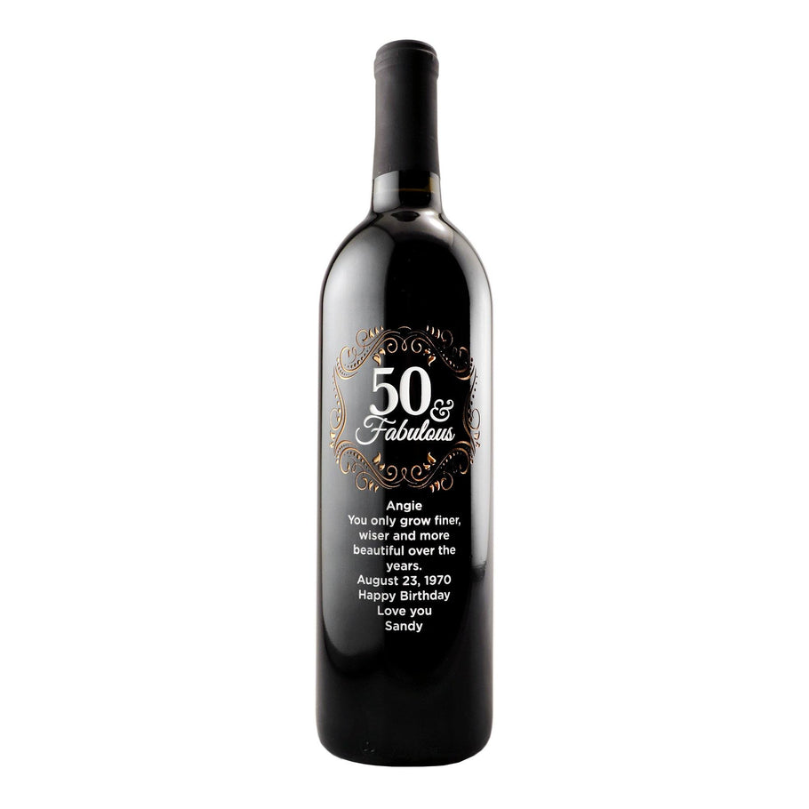 Red Wine - Fifty and Fabulous