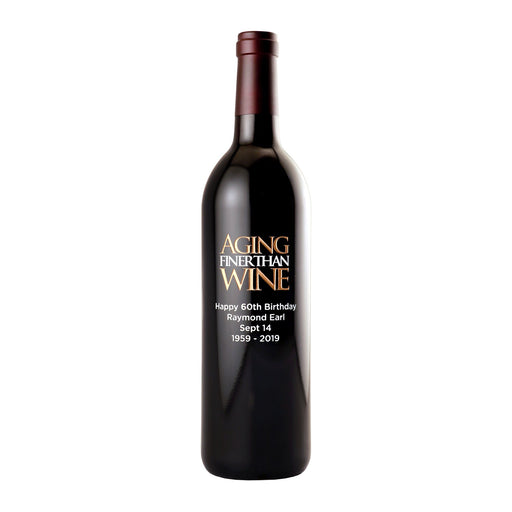 Red Wine - Aging Finer Than Wine