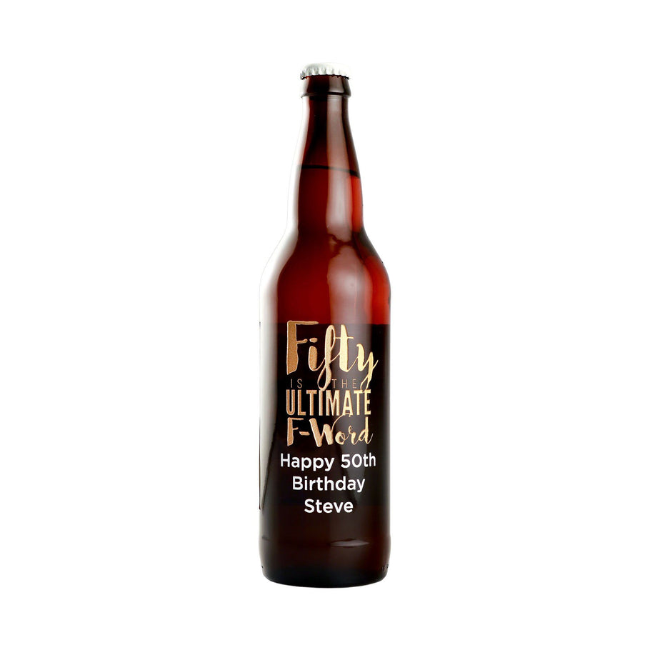 Beer - Fifty Ultimate F-Word
