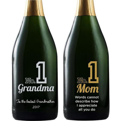 Personalized Champagne - Number 1