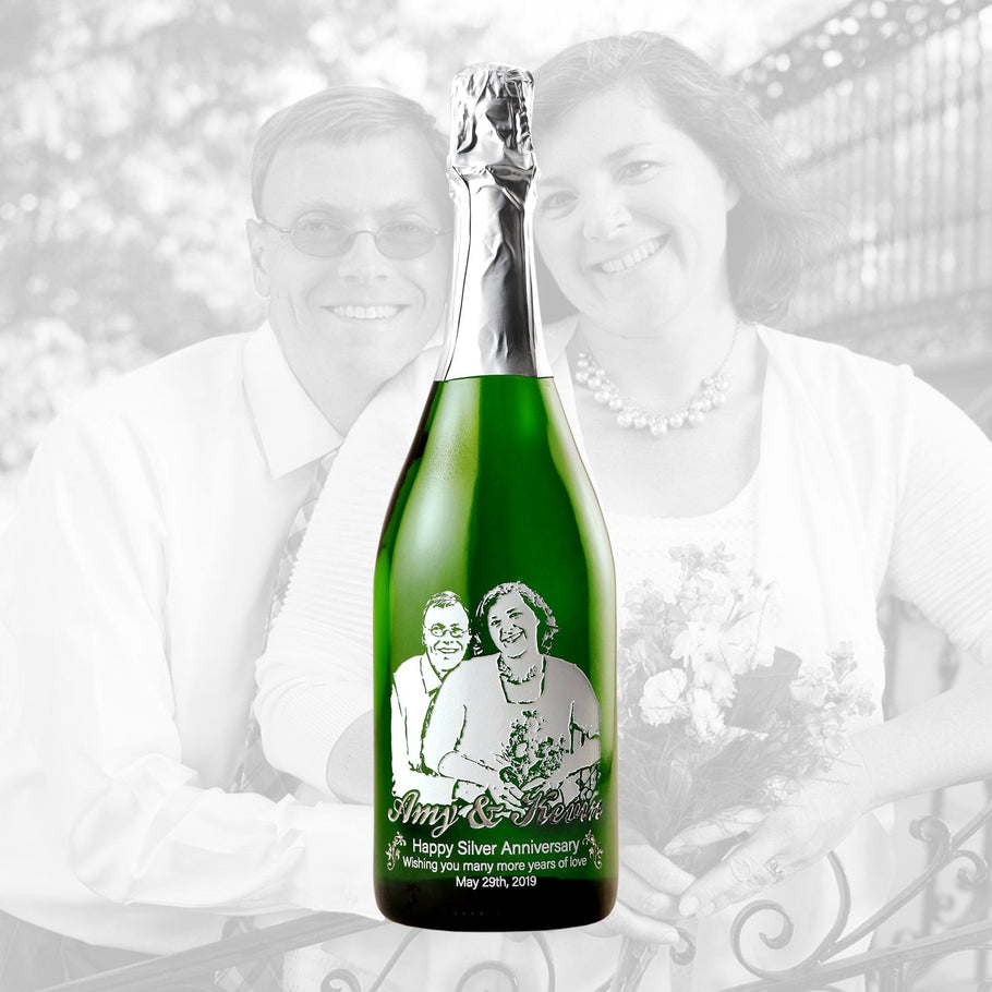 Champagne - Upload Your Own Anniversary Photo!