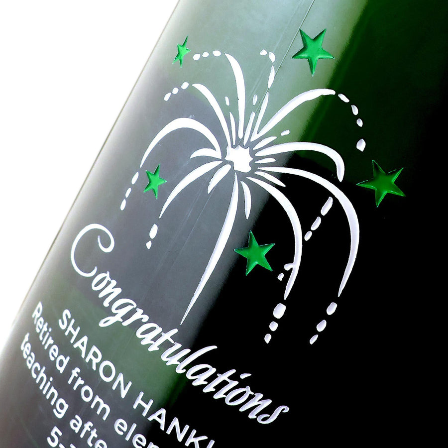 Champagne - Congratulations Fireworks