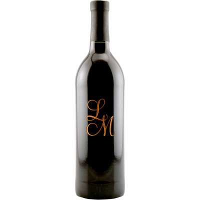 Personalized Etched Red Wine Bottle Gift - Monogram