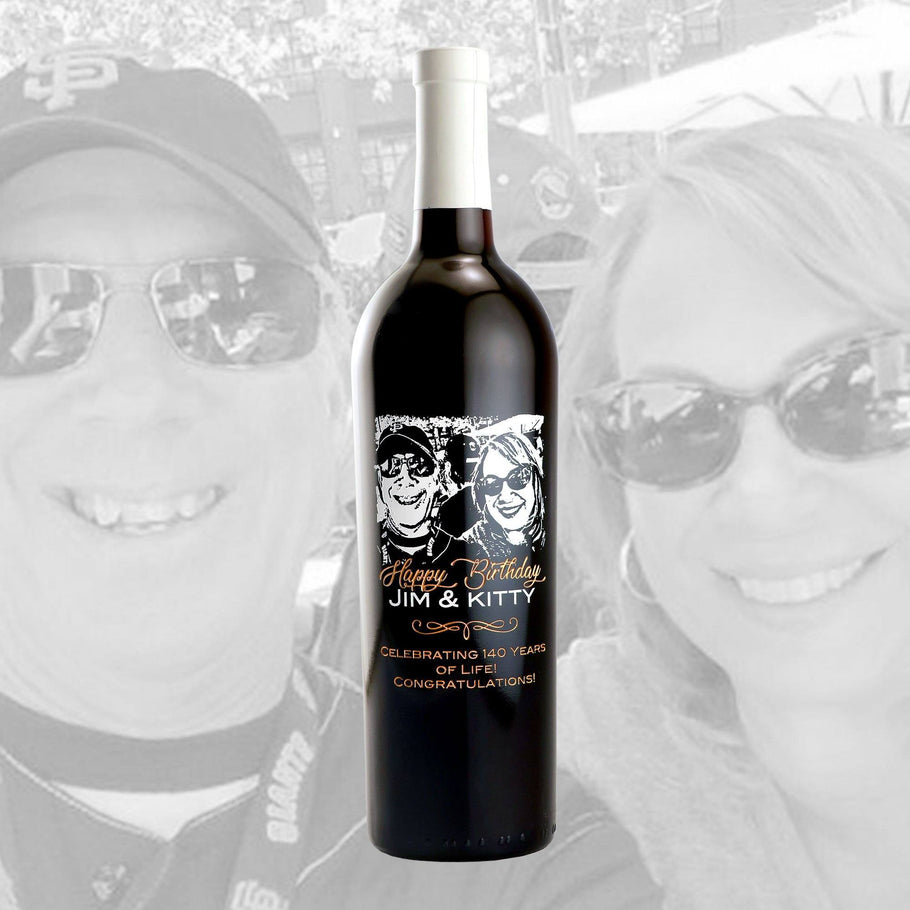 Red Wine - Upload Your Own Anniversary Photo!