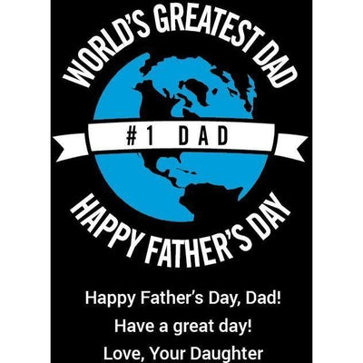 Red Wine - World's Greatest Dad