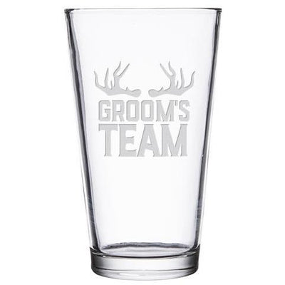 Pint Glass - Groomsmen Designs