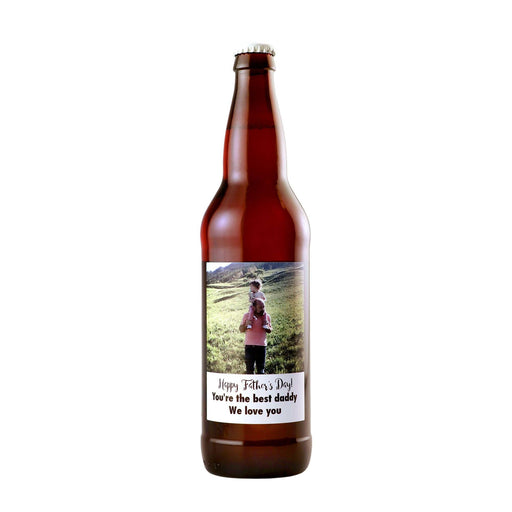 Beer - Custom Label with your Father's Day Photo!