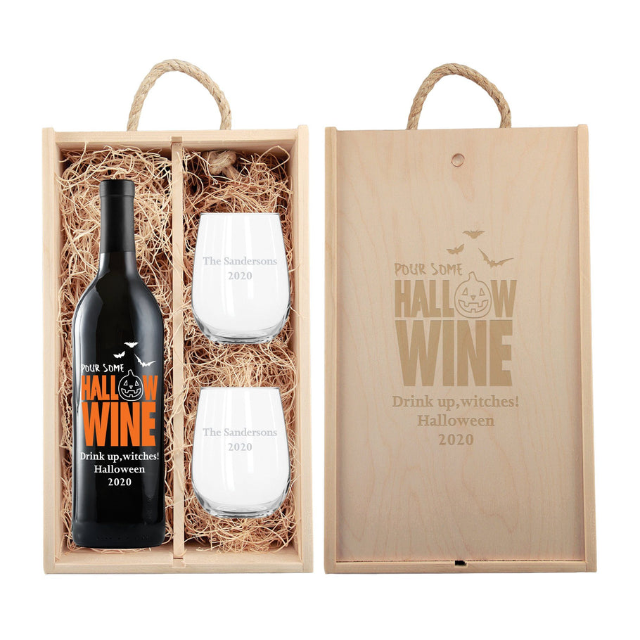 Red Wine - Pour Some Hallow-wine Gift Set