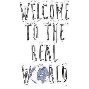 Blue Bottle - Welcome Real World Label