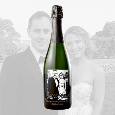 Champagne - Upload Your Own Wedding Photo!