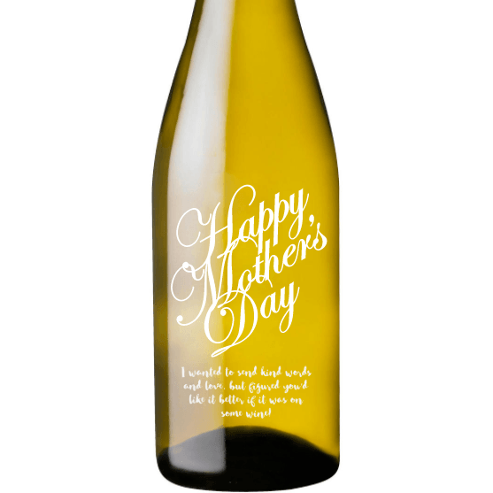 Personalized White Wine - Happy Mother's Day