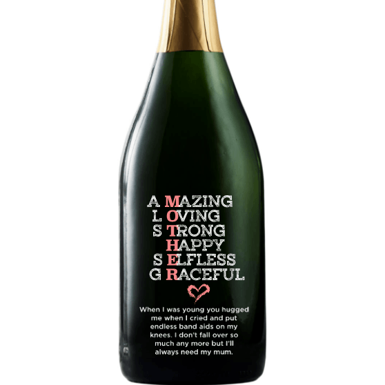Personalized Champagne - MOTHER