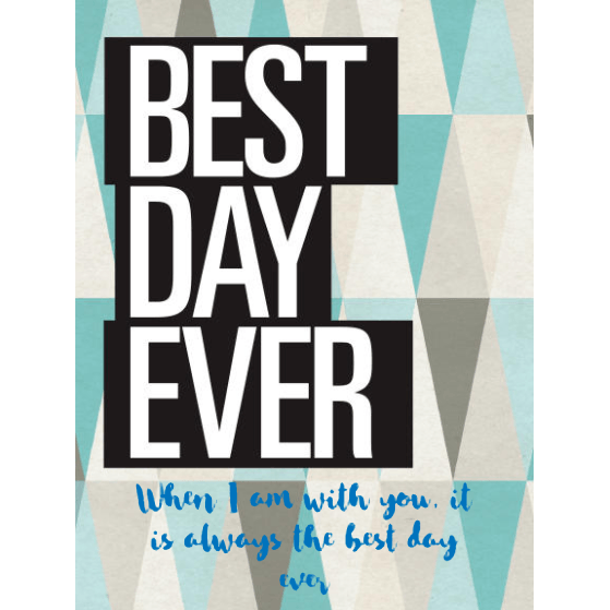 Champagne - Best Day Ever Label