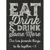 Personalized Champagne - Eat Drink & Drink Label