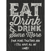 White Wine - Eat Drink & Drink Label