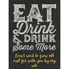 Personalized White Wine - Eat Drink & Drink Label
