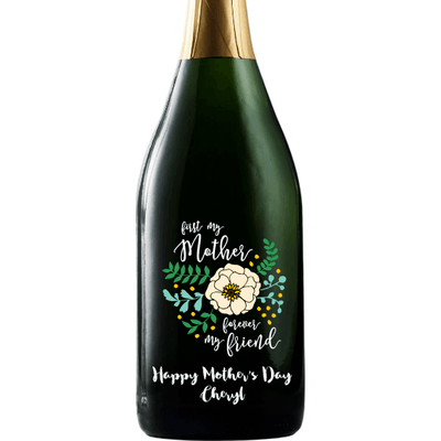 Personalized Champagne - Friend Mother